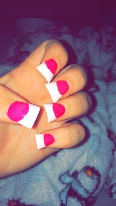 next time i get my nails on French Manicure Acrylic Nails, Acrylic Nail Designs, French Manicures, Nail Nail, French Nails, Get Nails, How To Do Nails, Hair And Nails, Duck Feet Nails