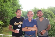 My favorite singer Aaron Shust with his brother Nick, and his dad Dan.