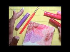 How to Use Faber-Castell Gelatos. (I can't wait to try them! I have learned they blend even better if you pre-treat your canvas with gel medium or gesso).