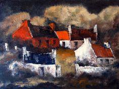 West Of Ireland Farm by Irish Contemporary Artist Val BYRNE