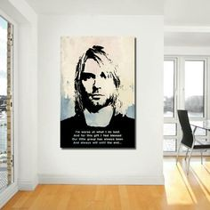 Excited To Share The Latest Addition My Etsy Shop Poster Kurt Cobain