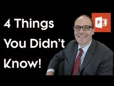 ▶ PowerPoint Tricks: Working With SmartArt, MetaFiles, Bullet Points and Picture PowerPoint Tricks - YouTube