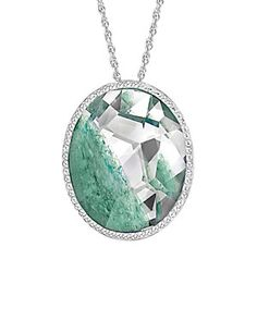 Swarovski Crystal Plated Necklace  ; Our price: $99.99