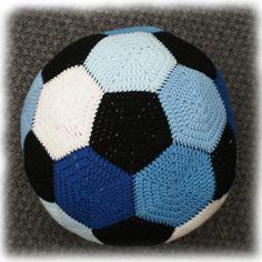 Football Soccer Ball Stuffed Toy Crochet Pattern