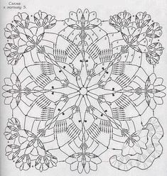 52 Ideas For Patchwork Patterns Squares Knits Crochet Motif Patterns, Granny Square Crochet Pattern, Patchwork Patterns, Crochet Squares, Crochet Chart, Crochet Granny, Filet Crochet, Knitting Patterns, Crochet Tablecloth