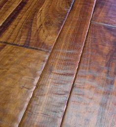 Hand scraped hardwood floor...going in my bedroom this week. Yep, I did it!