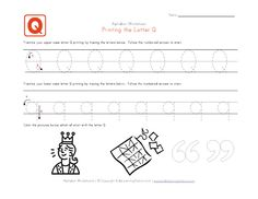 Tracing letter worksheets in landscape layout. We have one worksheet for each letter of the alphabet and they contain pictures to go with each letter. Each worksheet has uppercase and lowercase letters to trace. Letter Tracing Worksheets, Handwriting Worksheets, Tracing Letters, Uppercase And Lowercase Letters, Printing Practice, Learning Stations, Preschool Learning, Lower Case Letters, Activities For Kids