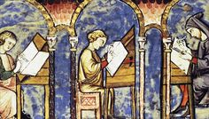 Nowadays, the norm when reading a book alone is to read it silently to oneself. Apparently, this practice was unusual in the ancient world.