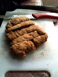 Tempe Katsu. Usually katsu were made by chicken called chicken katsu, but this food were made from ingredient originally from Indonesia called Tempe. Tempe is a yeast proceed of soybean.