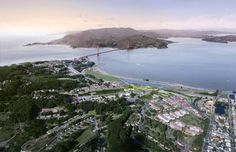 5 design teams unveil designs for Presidio Parklands #landscape #architecture #design #competition #san francisco #JCFO