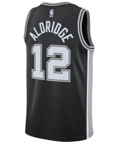 Nike Men Lamarcus Aldridge San Antonio Spurs Icon Swingman Jersey 4805cfd5c