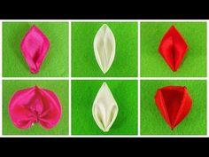 DIY Kanzashi petals I Tutorial I How to I Part 3. Link download: http://www.getlinkyoutube.com/watch?v=i30mqEVa2qU