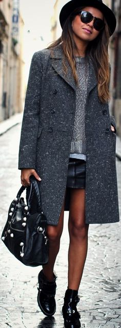 Balenciaga Black Buckled Boots