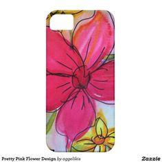 Pretty Pink Flower Design