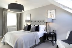 Edwardian House Client: Laura Hammett Date: February 2014 Beach House Bedroom, Home Bedroom, Master Bedroom, Bedroom Decor, Bedrooms, Bedroom Inspo, Bedroom Ideas, Contemporary Interior Design, Best Interior Design