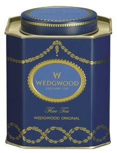 Wedgwood Everyday Luxury Original Caddy, 125g, Blue