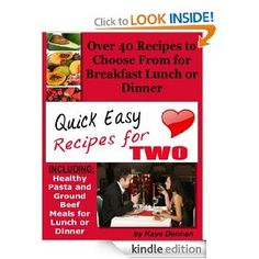 1000 Images About Easy Recipes For Two On Pinterest Easy Recipes For Two
