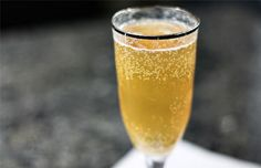 French 75 (Potent! Champagne Cocktail) from @ezrapoundcake    We make a similar one with 1/3's  champagne, cranberry vodka, and Triple Sec. Yum!