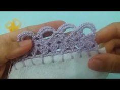 Bico de crochê carreira única #120 - YouTube