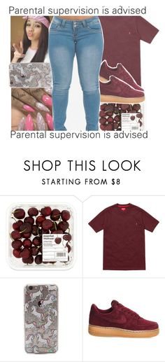 """""""burgundy/maroon contest"""" by geazybxtch24 ❤ liked on Polyvore featuring NIKE"""