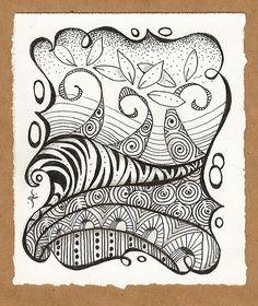 Zentangle Inspired Cards