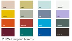#tuesdaytrending international key colours for 2019+ | @meccinteriors | design bitess | #2019trends #2019colourtrends #colourtrends