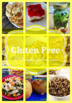 Over 30 Gluten Free recipes that are full of taste!
