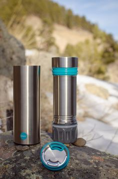Grayl Water Filtration Cup Turns any Water Source into Drinking Water