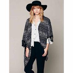 Free People Kimono Free People Kimono in wonderful condition. 66% cotton, 23% nylon and 11% polyester. Runs XS & Small Free People Sweaters