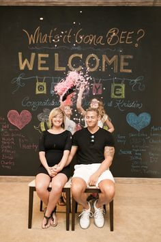 No One Is More Surprised — or Excited — at This Gender-Reveal Party Than These Older Sisters