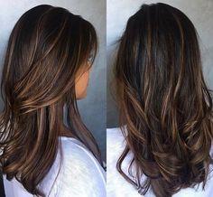 Fall Hair Color Trends 25 Gives your hair a touch of autumn in a lot of . - Fall Hair Color Trends 25 Gives your hair a touch of autumn in a variety of shades, including shade - Brown Hair Balayage, Balayage Brunette, Hair Color Balayage, Hair Highlights, Brown Blonde, Blonde Hair, Brunette Color, Ombre Hair Color, Brown Hair Colors