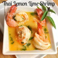 Lemon Lime Thai Shrimp Recipe