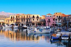 Crete Kreta – Seaport City of Rethymnon