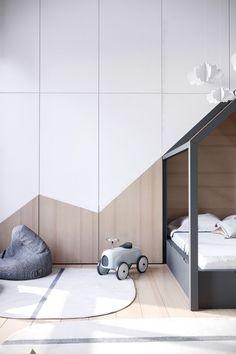 Scandinavian Kids room design #KidsBedroomFurniture