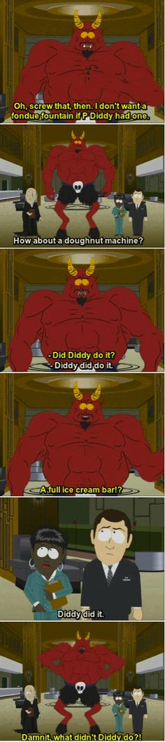South Park Devil Diddy