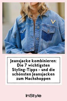 Wir verraten dir, wie vielseitig du jetzt die Jeansjacke kombinieren kannst und welche die größten Jeansjacken-Trends sind! #instyle #instylegermany #jeansjacke #styling #tipps