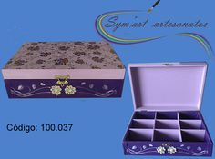 Porta jóias em MDF... Email: symartartesanato@gmail.com