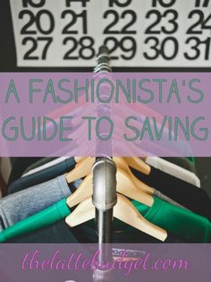 Is shopping one of your hobbies? Have a serious passion for fashion, but not sure how it can work with your budget? Read a fashionista's guide to saving money on clothes.