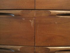 How to restore antique wood pieces with marks and scratches on them.