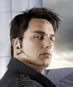 Captain Jack Harkness anyone? (Torchwood/Dr Who) pinning for ear piece ref.