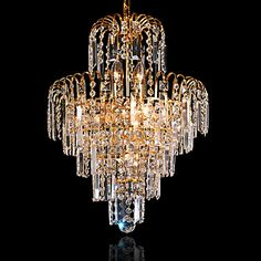 European-Style+Luxury+4+Lights+Chandelier+In+Crown+Shape+-+USD+$+124.99