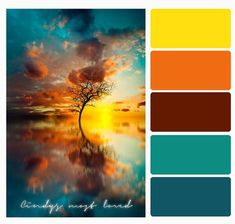 Super Ideas For Design Portfolio Inspiration Color Palettes House Color Palettes, Color Schemes Colour Palettes, Colour Pallette, Sunset Color Palette, Sunset Colors, Color Balance, Color Harmony, Paint Color Combos, Pallet Tree