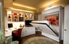 Cama levadiza para cuartos con poco espacio