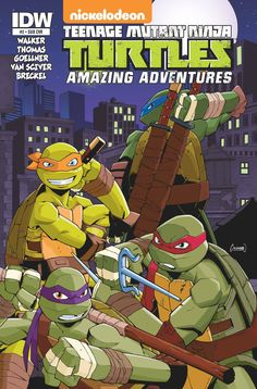 The adventures continue! The Turtles face a new, all-powerful foe. To survive they'll have to turn to... Shredder?? Bonus story featuring a comic book made by Mikey!