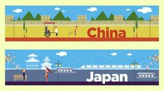 Take a trip around Asia with two of our lovely display banners. Countries featured include Japan and China. Each banner is split across three pages. Display Banners, World Traveler, Geography, Teaching Resources, Journal, Japan, Country, The World, Rural Area