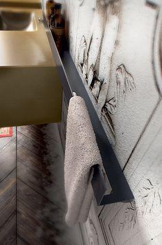 Arredo bagno vetro e resina: Enea - AgoràGroup - Edoné Design