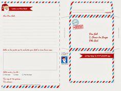 Lettre au père Noel à imprimer