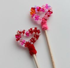 heart wand valentines- can these be made into pencil toppers?