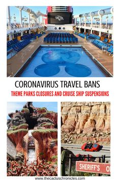 The travel industry has been hit hard due to A coronavirus travel ban was announced as well as theme park closures and cruise ship suspensions. Summer Travel, Travel With Kids, Family Travel, Disney Cruise Line, Disney Travel, Disney Tips, Disney Magic, Legoland California, How To Book A Cruise