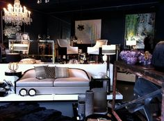 Interior design students, check out this stunning store fit out by @beckermintystore. Gorgeous!